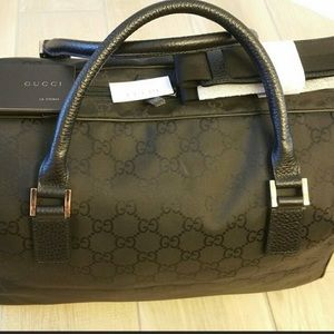 AUTHENTIC Gucci Travel/Luggage/Overnight/Business